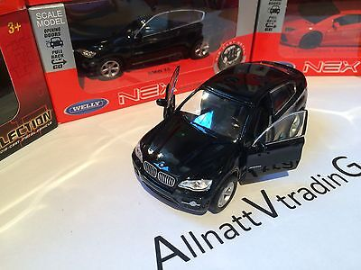 BMW X6 4x4  WELLY Diecast metal car collection toy model 1:38 scale NOT X5