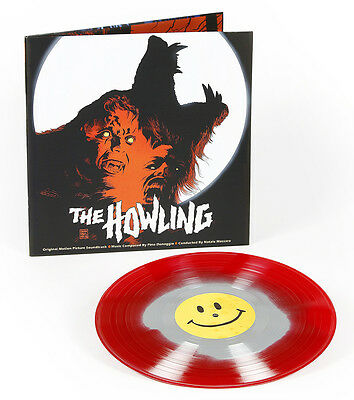 Pino Donaggio The Howling Soundtrack OST Blood / Silver Vinyl LP WaxWork New