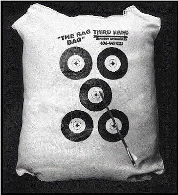 Archery field point poly bag target cover 32x34 build your own third hand USA