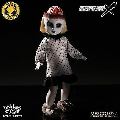 LIVING DEAD DOLLS Resurrection X Ghostly White Variant PURDY 2016 SOLD OUT
