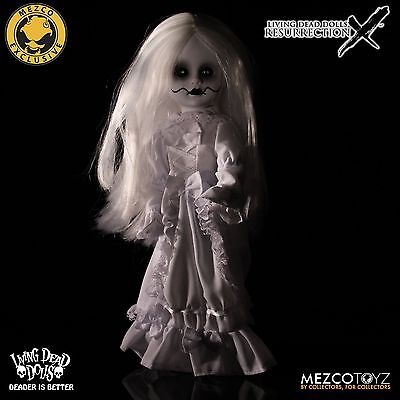 LIVING DEAD DOLLS Resurrection X Ghostly White Variant LOST 2016 SOLD OUT