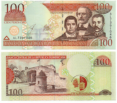 Dominican Republic Commemorative Banknote (2002)