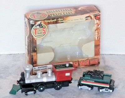 T&S Collectible Train Cars Engine & Coal Car