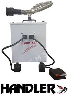 HANDLER SANI-VAC 750A Professional Podiatry Vacuum Cleaner System NEW 750 USA !!