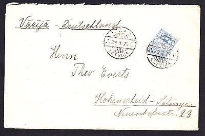 Latvia 1925 Commercial Cover To Germany