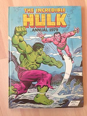 The Incredible Hulk 1979 Annual Marvel