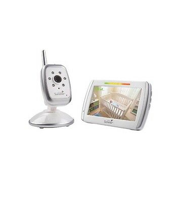 """Summer Infant® 5"""" Wide View Color Video Baby Monitor NEW Open Box 726"""