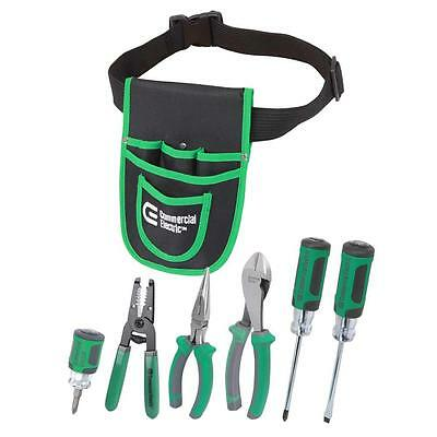 7-Piece Electrician 's Tool Set with Pouch