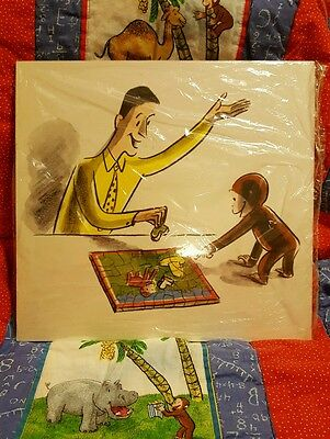 Curious George wall tile