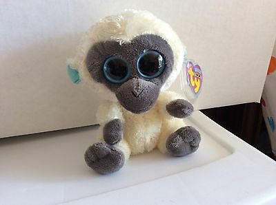 Ty Beanie Boo BANANAS the Monkey UK Exclusive 6""