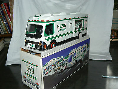 1998 Hess Truck Recreation Van With Dune Buggy and Motorcycle, NEW IN BOX