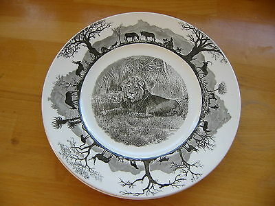 Wedgwood Kruger National Park plate by  x 2.