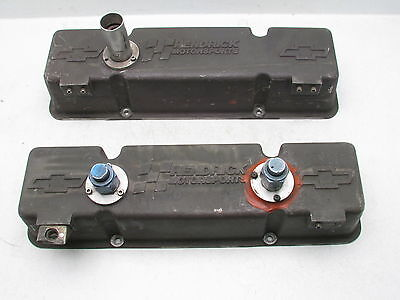 Hendrick Motorsports 18° & 23° SBC Chevy Valve Covers Vintage NASCAR Collectable