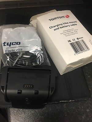 Tom Tom Rider 2nd Edition Mount And Battery Cable