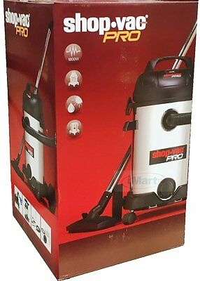 Shop Vac PRO 25L 1800W Powerful Commercial Wet&Dry Vacuum Cleaner brand new
