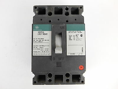 General Electric 3-Pole, 20 Amp, 480V Circuit Breaker TED134020