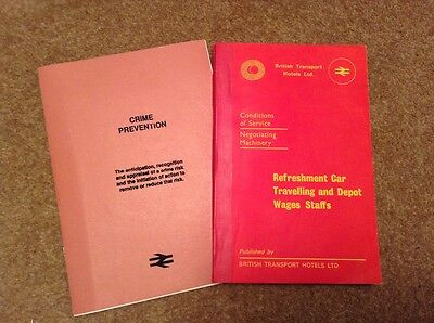 RARE Railway  Conditions of Service British Transport Hotels