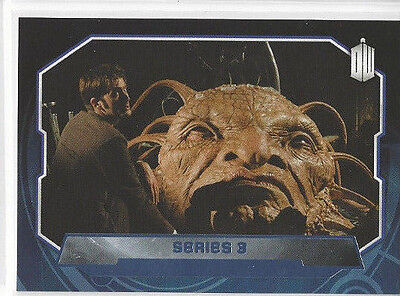 2015 Doctor Who Purple #195 Series 3 sn 60/99 parallel