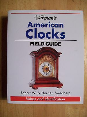 CLOCKS PRICE GUIDE COLLECTOR'S BOOK Grandfather Cockoo Wall Mantel 512 PAGES