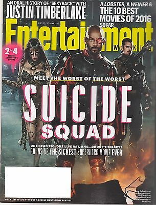 8 Issues of Entertainment Weekly Magazine - July - October 2016 - Lot 2