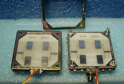 10.525 GHz Doppler radar modules, Microsemi, X-band transceivers, set of two