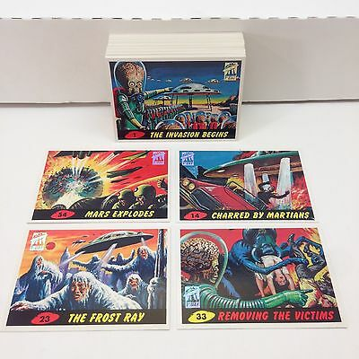 MARS ATTACKS! ARCHIVES (Topps/1994) Complete 1st FIRST DAY PARALLEL Card Set 55