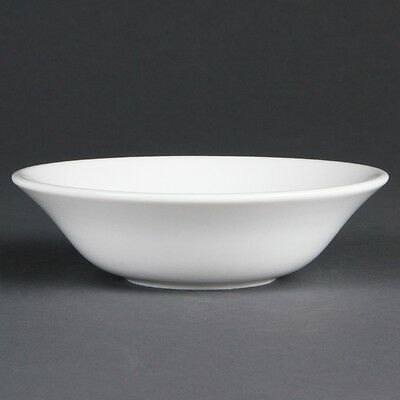 12x Olympia Whiteware Oatmeal Bowls 150mm Kitchen Serving Dishes Tableware