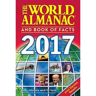 FREE 2 DAY SHIPPING: The World Almanac and Book of Facts 2017 (Paperback)