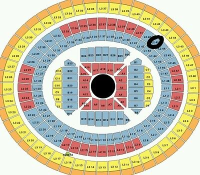 Adele tickets (two available) B Reserve L2 43 Row T Melbourne Sunday 19th