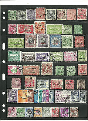 Stamps,  India states, nice lot