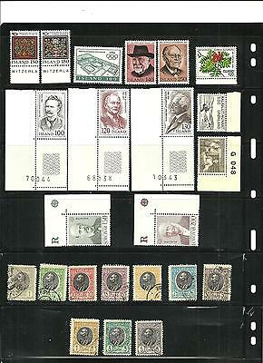 stamps,europa countries lot,island,romania, etc