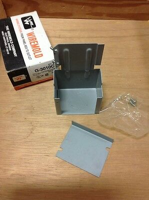 WIREMOLD G-3010C ENTRANCE END FITTING, New!!  Loc 33C