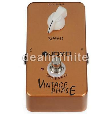 JOYO Audio Effect Pedal JF-06 Vintage Phase Pedal True Bypass