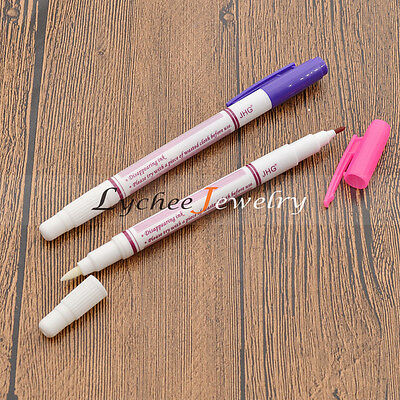 DIY Sewing Water Soluble Marker Pen Erasable Colour Fade Non-woven Fabrics Craft