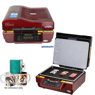 Multifunction 3D vacuum heat press sublimation machine Large capacity real color