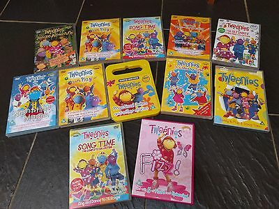 Tweenies 12 Dvd's Lets Play Song Time Jungle Adventure Night Time Magic Messy