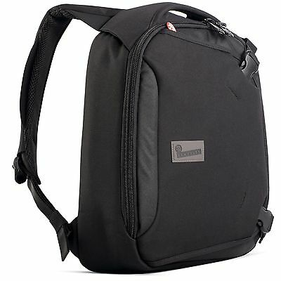 "NEW Crumpler Dry Red No.5 Compact 13"" Laptop Backpack - Black"