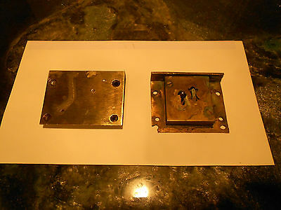 **Secure Two Lever Brass Drawer Lock**