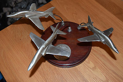 Very Rare Danbury Mint -  Reds On High - Red Arrows Sculpture - Pewter Model