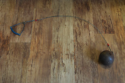 Vintage old throwing hammer ball throw approximatey 7kg lovely display piece