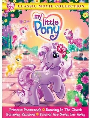 My Little Pony: Classic Movie Collection (2014, DVD NUEVO) FF2 DISC S (REGION 1)