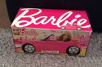 Barbie Glam Convertible Pink Car - New