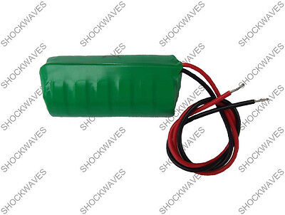 VOLVO BATTERY CAR ALARM SYSTEM SERVICE REQUIRED MESSAGE 7.2V 320mAh Siren