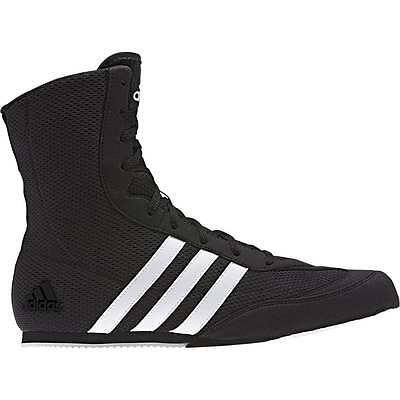 Adidas Box Hog Boxing Boots  - Black White - 2017 Design Boots
