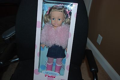 Pink Glamour  18'' Madame Alexander Doll, New! Favorite Friends Collection