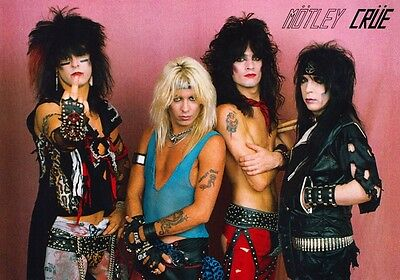 MOTLEY CRUE Shout At The Devil 1983 Tour PHOTO Print POSTER Dr Feelgood Shirt 12