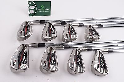 Titleist Ap1 710 Irons / 3-Pw / Stiff Dynamic Gold S300 Shafts / 51003
