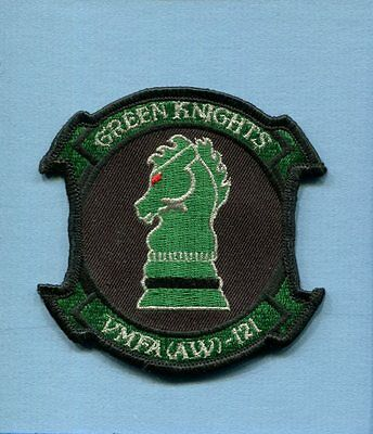 VMFA(AW)-121 GREEN KNIGHTS USMC MARINE CORPS Fighter Attack Squadron Patch