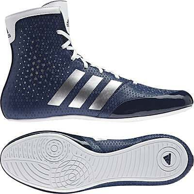 Adidas KO Legend 16.2 Boxing Boots - Blue Mens Ladies Trainers Shoes