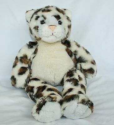 Build A Bear Spotted LEOPARD CHEETAH CAT  PLUSH Stuffed Animal 17 inches Tall